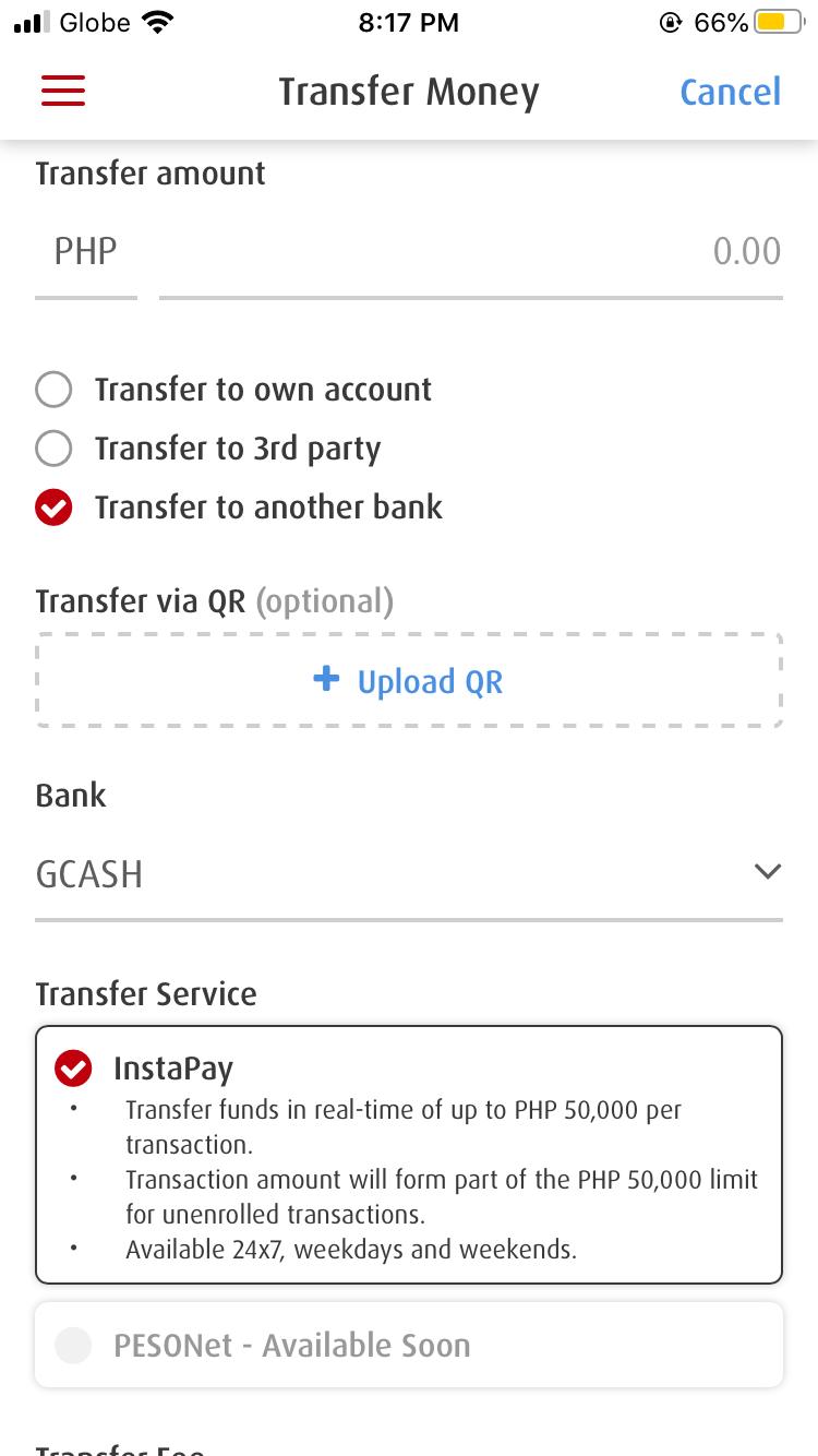 BPI to GCash (Transferring Money from your BPI Bank Account to GCash) 10