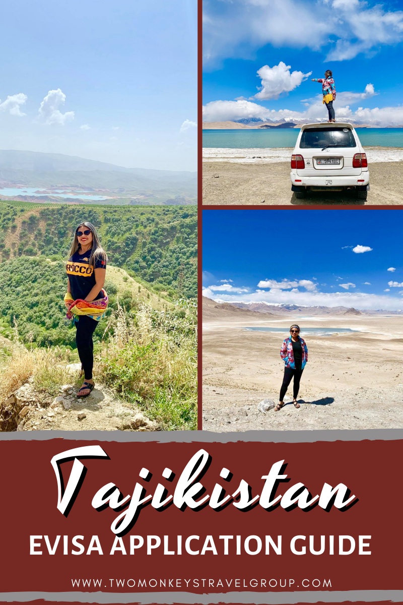 Central Asia Travel How to Get a Tajikistan EVisa for Filipinos