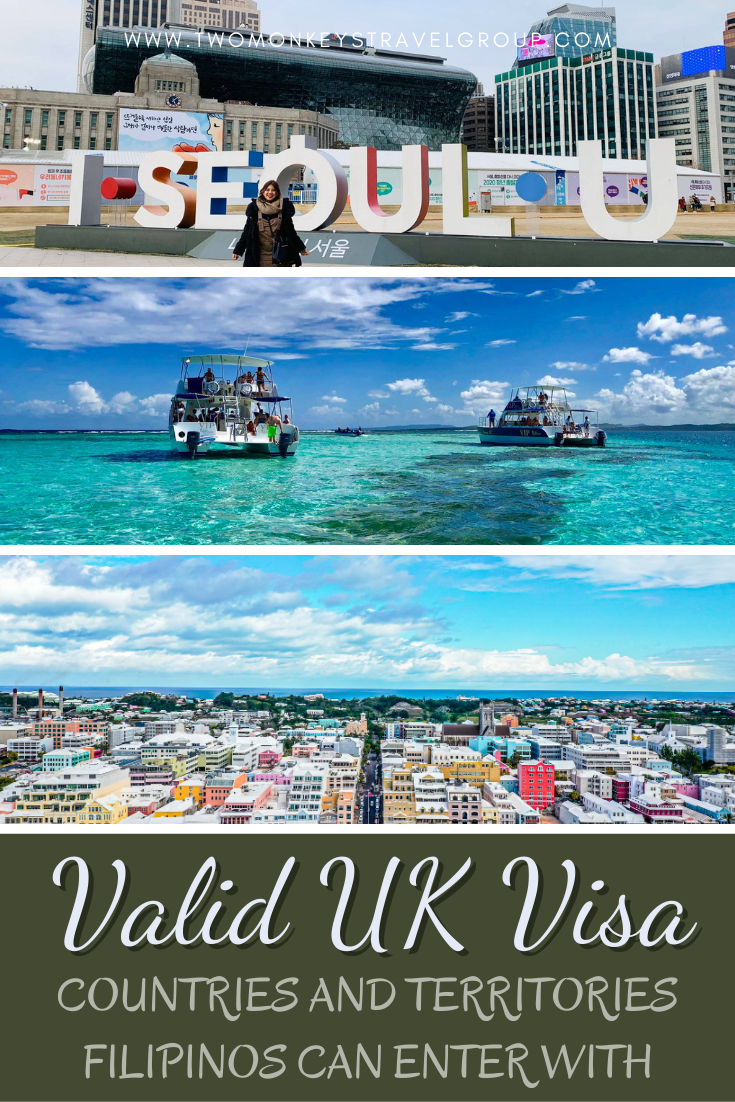 Countries and Territories Filipinos Can Enter with a Valid UK Visa