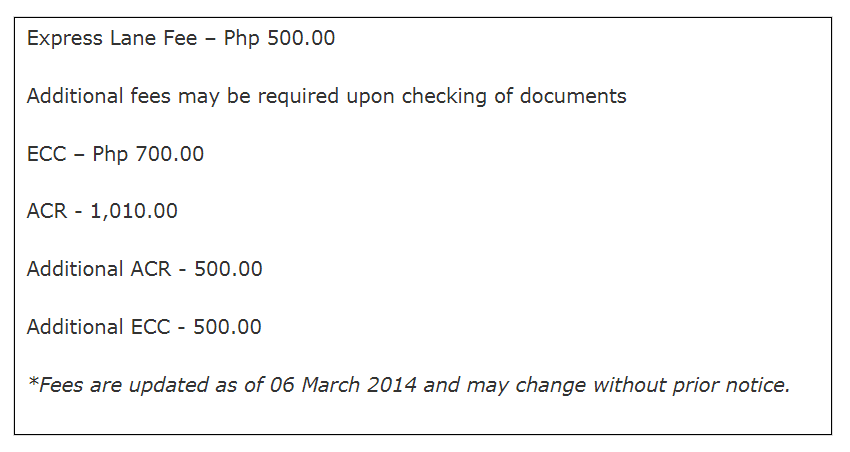 Emigration Clearance Certificate – For Foreigners with Visas and Permits Leaving the Philippines 07
