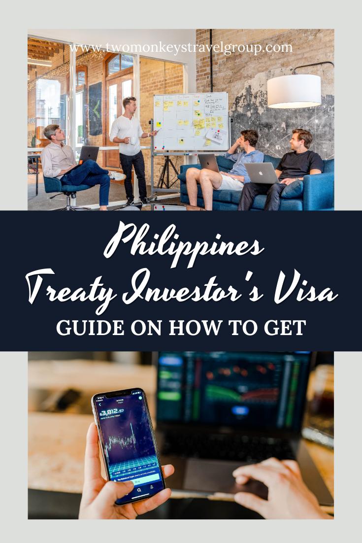 Getting a Philippines Treaty Trader's or Treaty Investor's Visa (9D Visa)