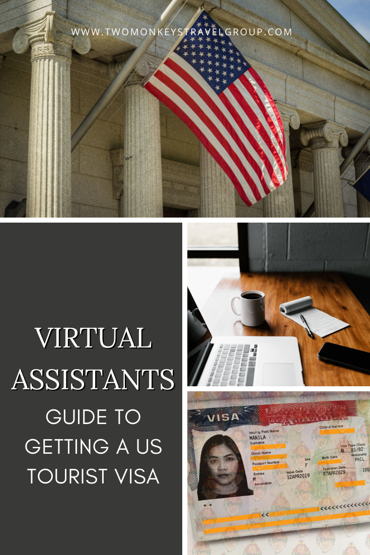 Guide to Getting a US Tourist Visa For Filipino Virtual Assistants [or Digital Nomads]
