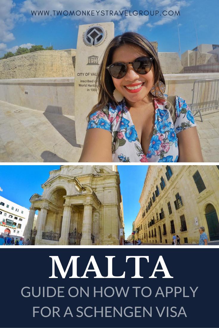 How to Apply for a Schengen Malta Visa For Filipinos