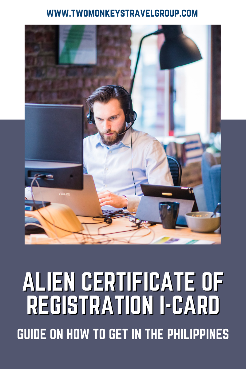 How to get an ACR I Card in the Philippines (Alien Certificate of Registration)