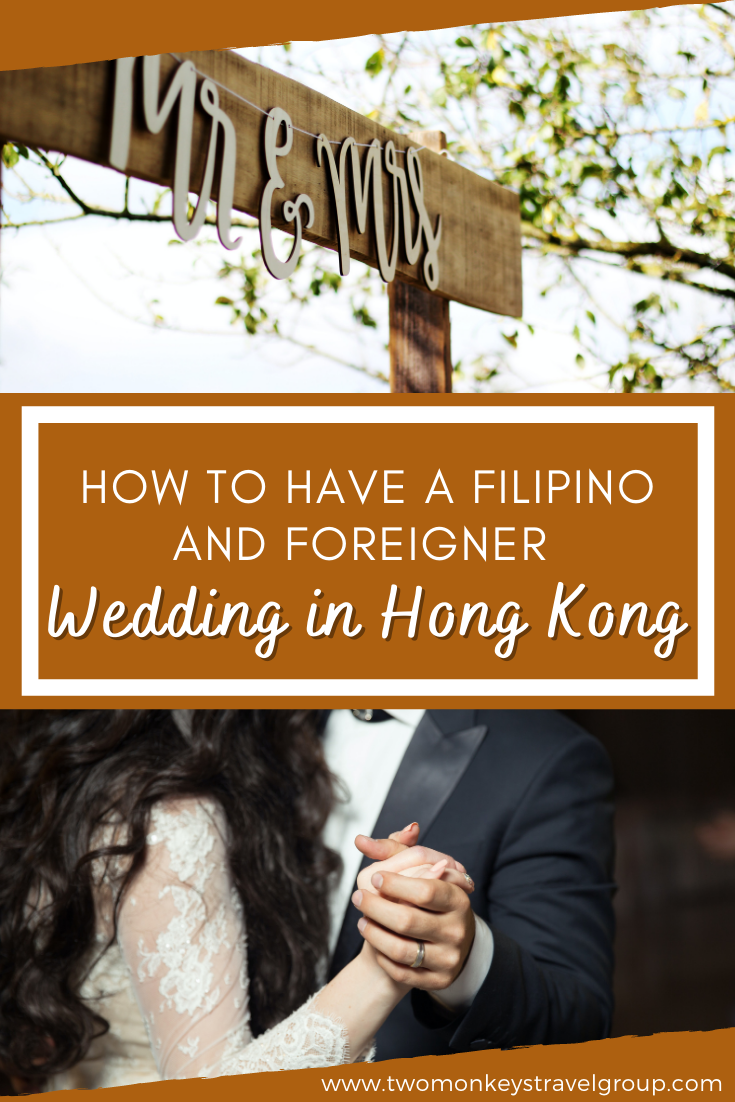 How to have a Filipino and Foreigner Wedding in Hong Kong