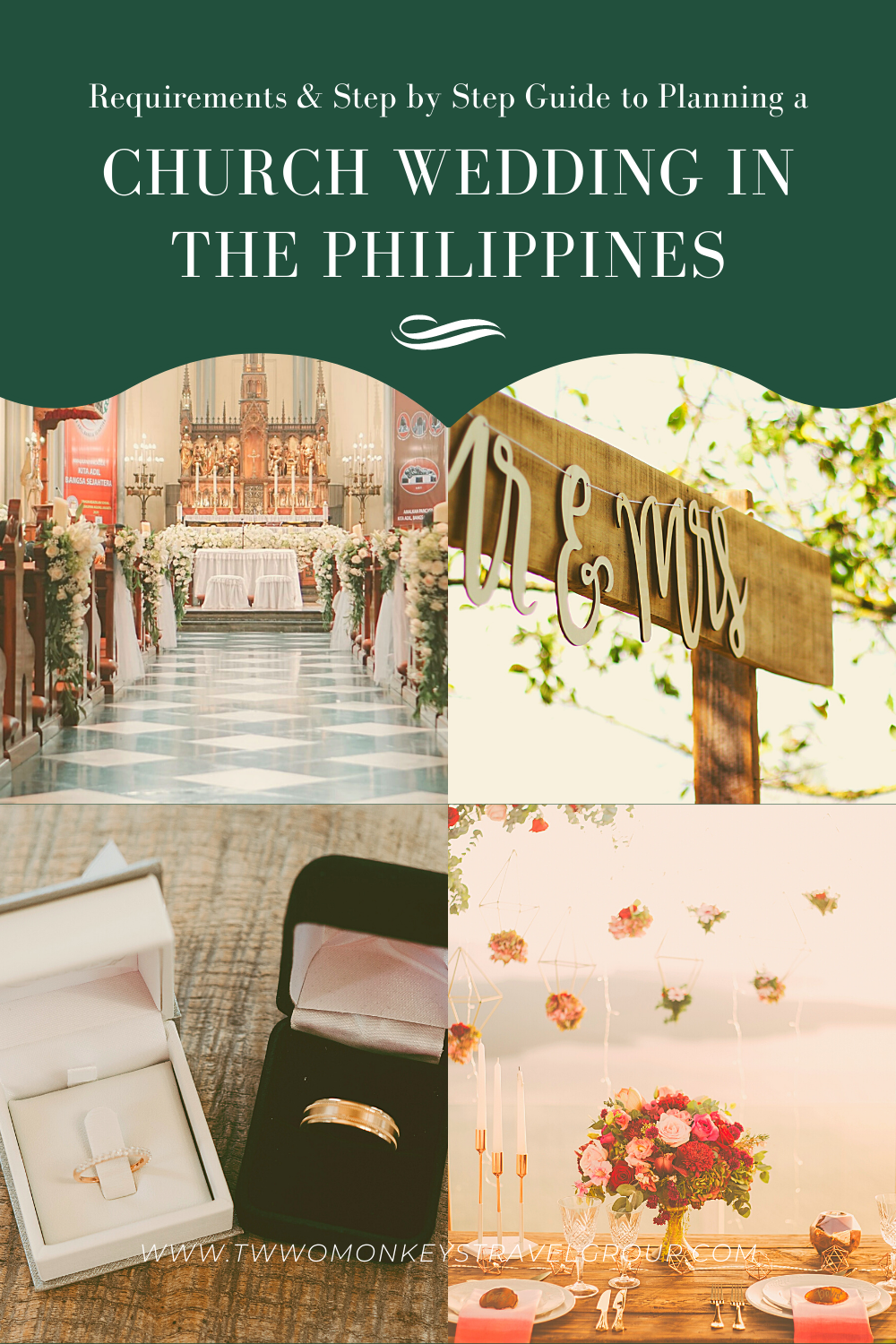 Requirements & Step by Step Guide to Planning a Church Wedding in the Philippines1