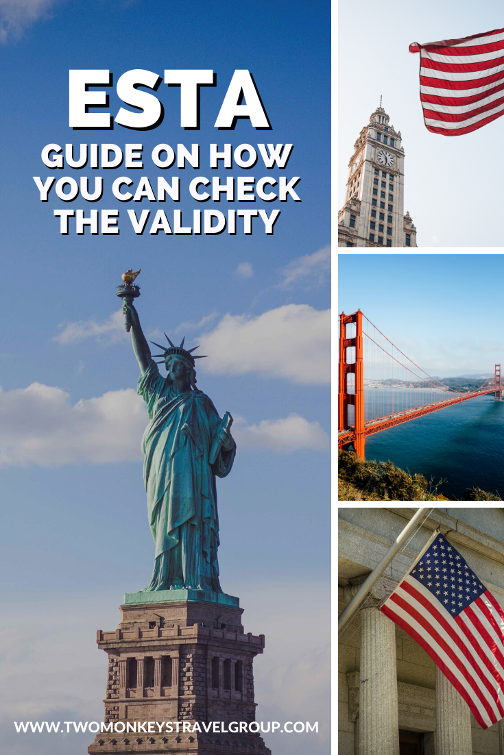 US Travel Tips 2020 How you can check your ESTA validity
