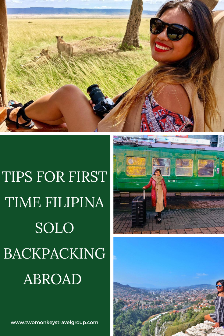 17 Tips for First Time Filipina Solo Backpacking Abroad [Solo Female Travel]