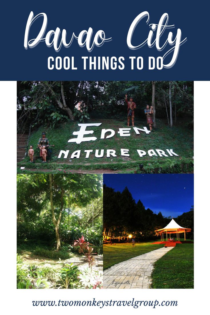 5 Cool Things To Do in Davao City and Suggestion on the Best Nature Parks to Visit