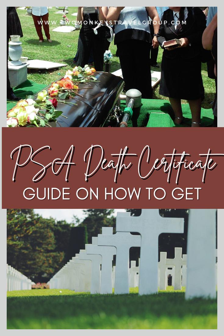 How To Get a PSA Death Certificate [Walk-In at Census Serbilis Center or Online thru PSASerbilis]