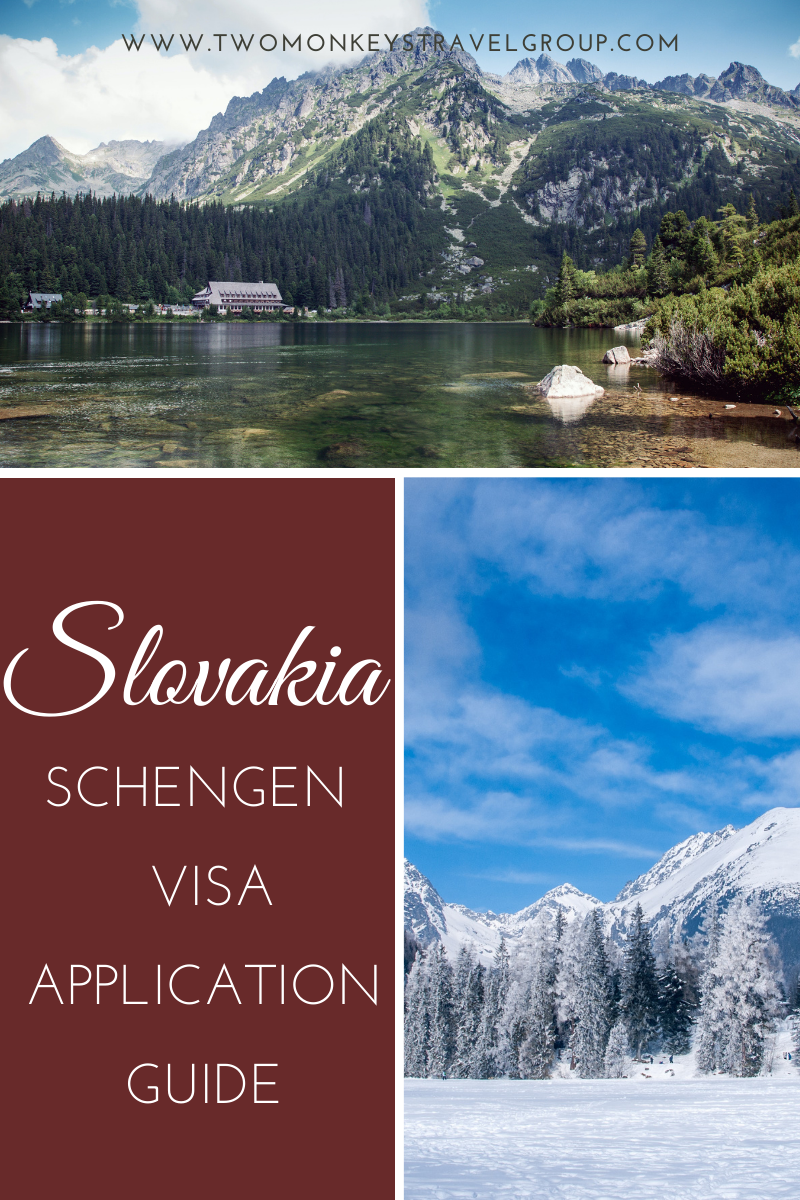 How to Apply for a Schengen Slovakia Visa for Filipinos