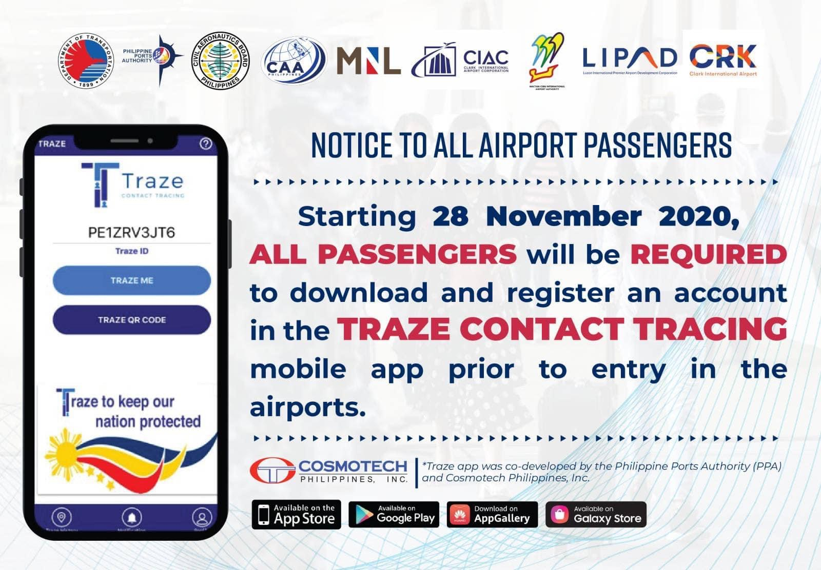 Traze App Contract Tracing Application in the Philippines 01