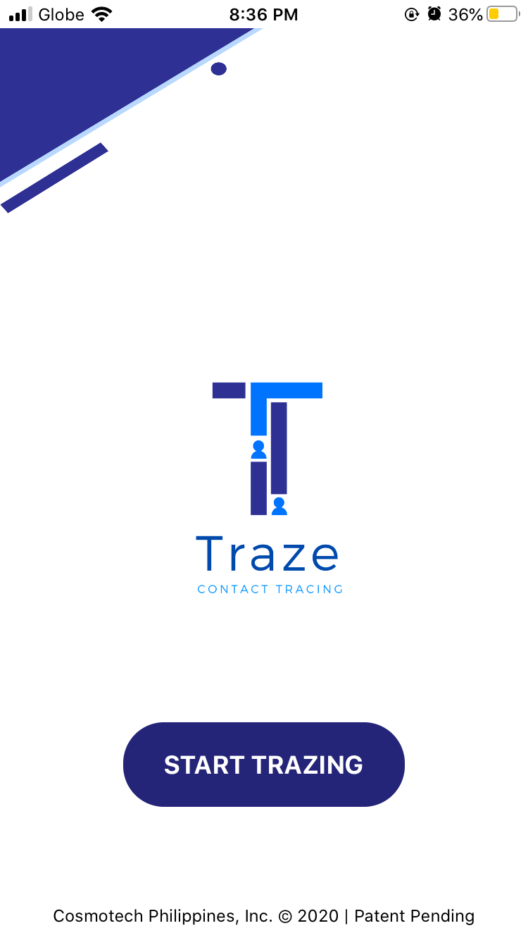 Traze App Contract Tracing Application in the Philippines 03