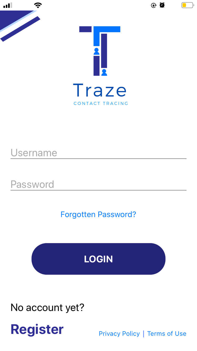 Traze App Contract Tracing Application in the Philippines 04