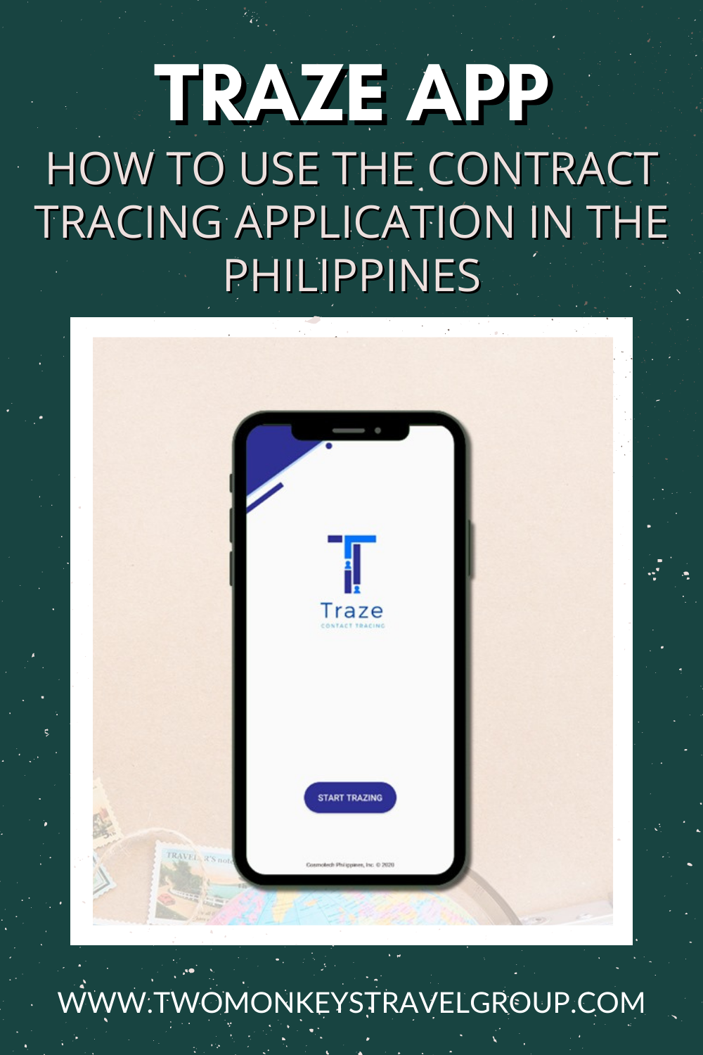Traze App How To Use The Contract Tracing Application in the Philippines