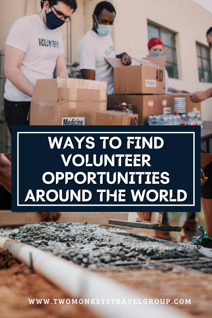 6 Ways To Find Volunteer Opportunities Around The World For Filipinos3