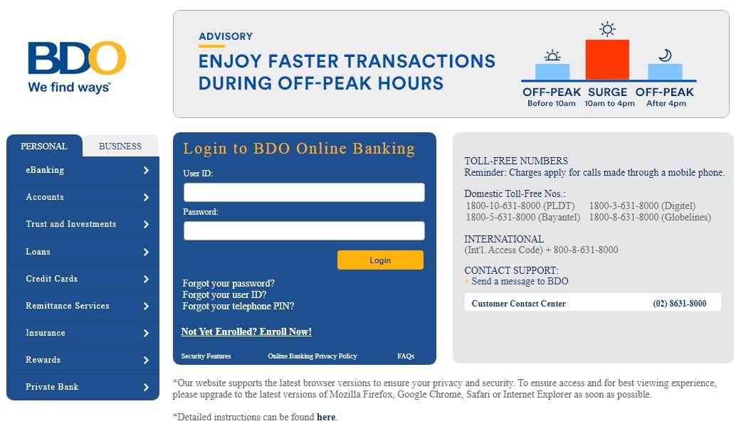 BDO to GCash (Transferring Money from your Banco De Oro Bank Account to GCash)