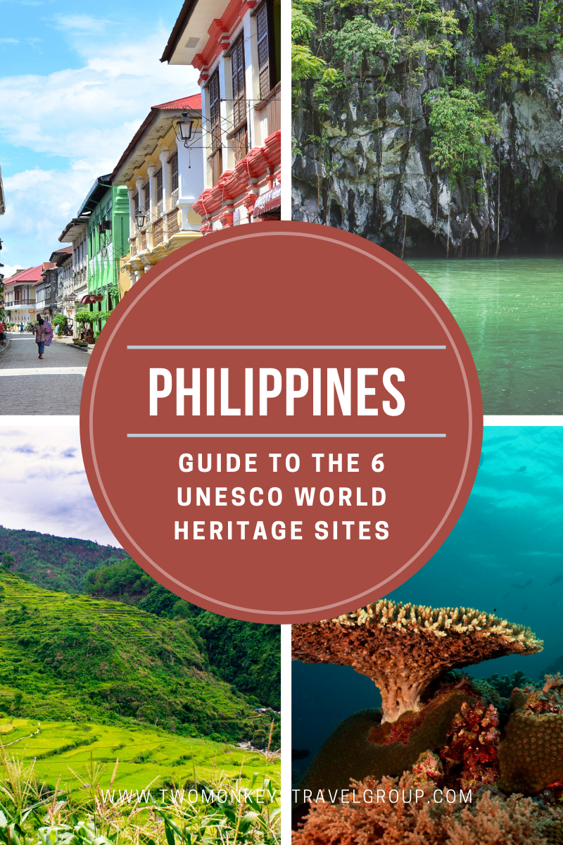 Guide to the 6 UNESCO World Heritage Sites in the Philippines