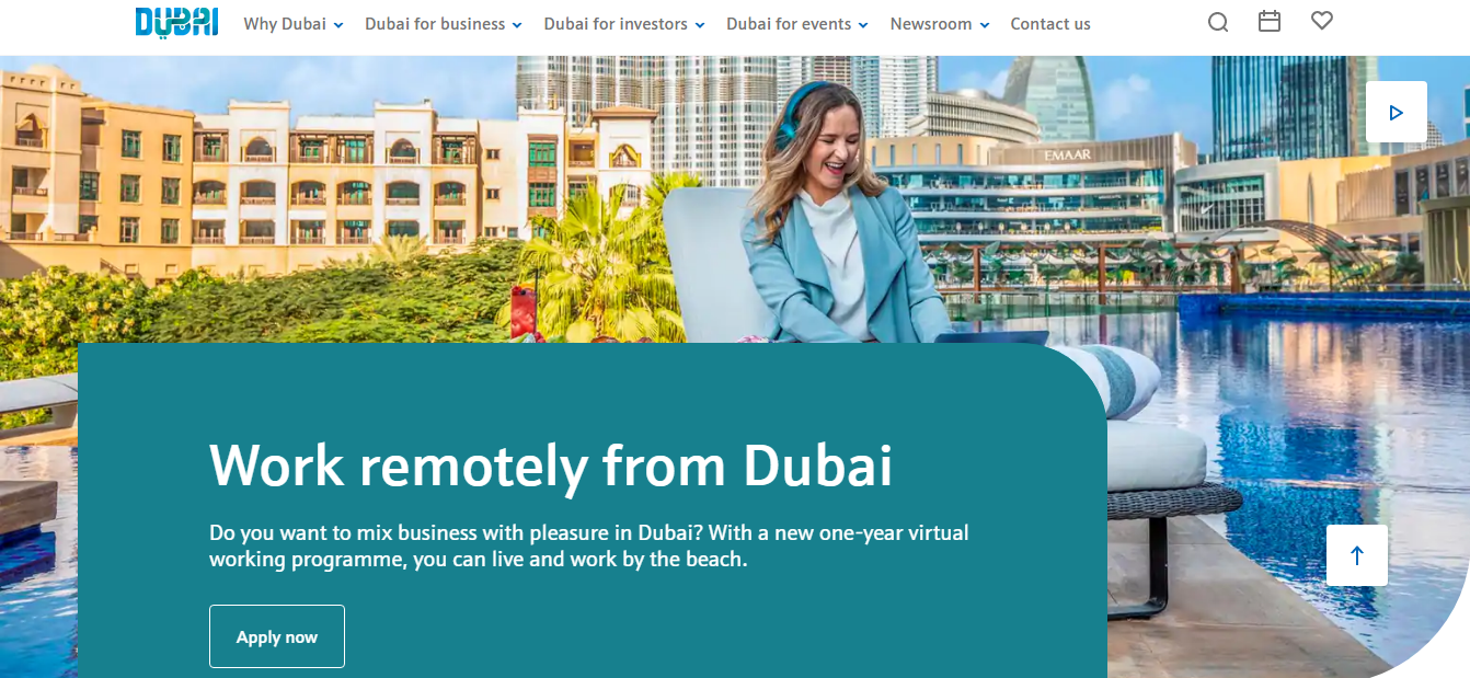 How to Get a Dubai Digital Nomad Visa (Dubai's Virtual Working Programme) 01
