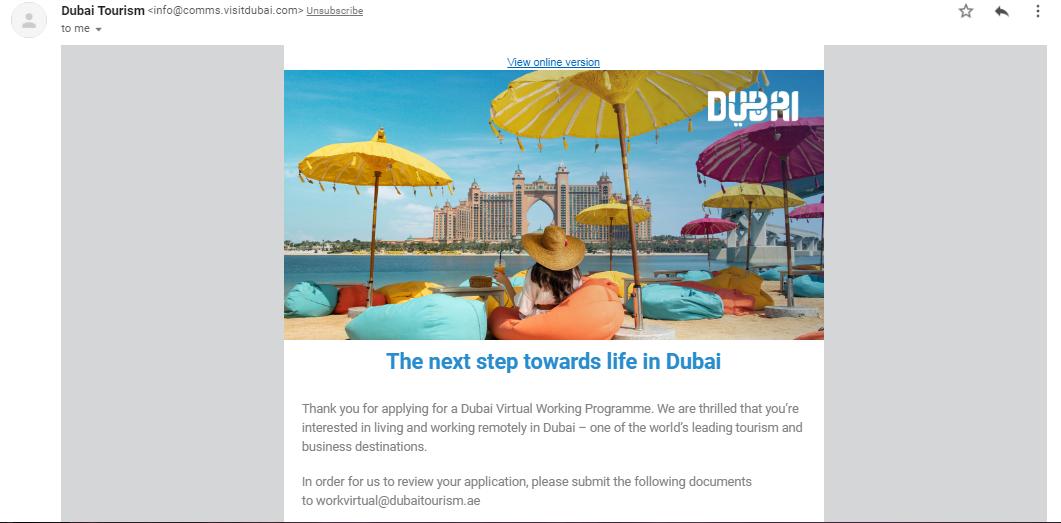 How to Get a Dubai Digital Nomad Visa (Dubai's Virtual Working Programme) 03