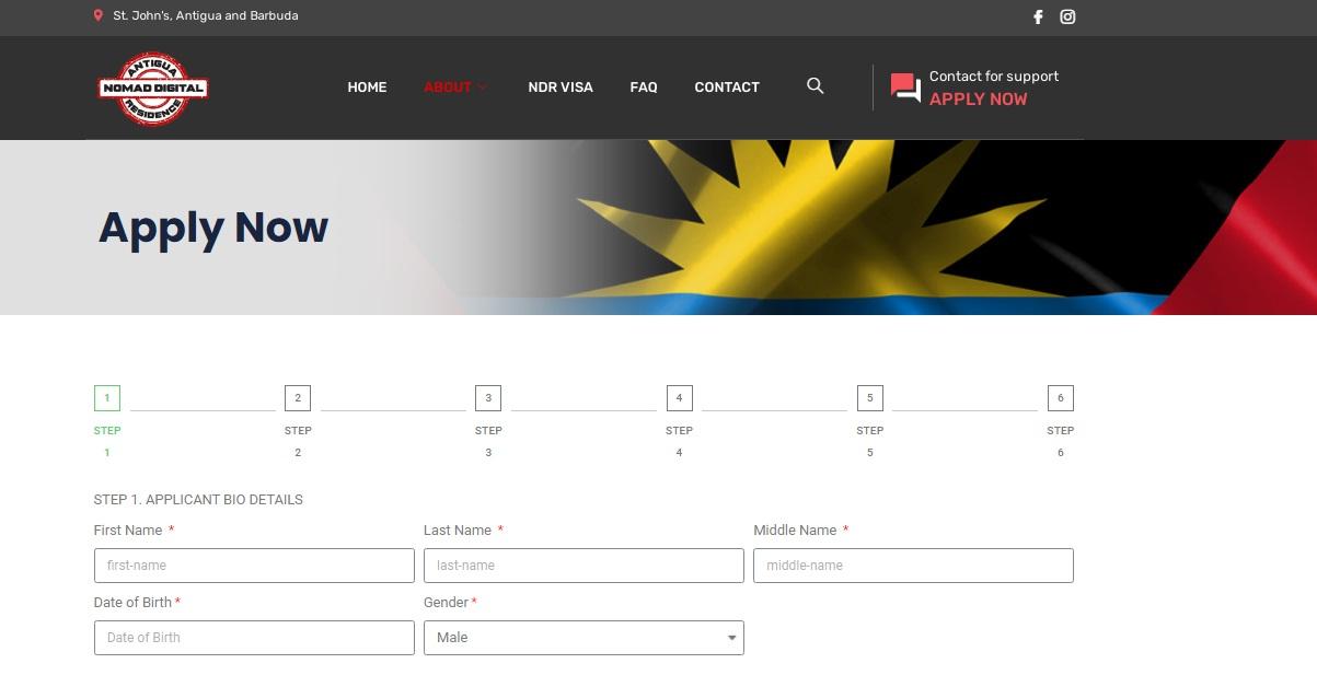 How to Get a Nomad Digital Residence Visa for Antigua and Barbuda (NDR Visa) 01