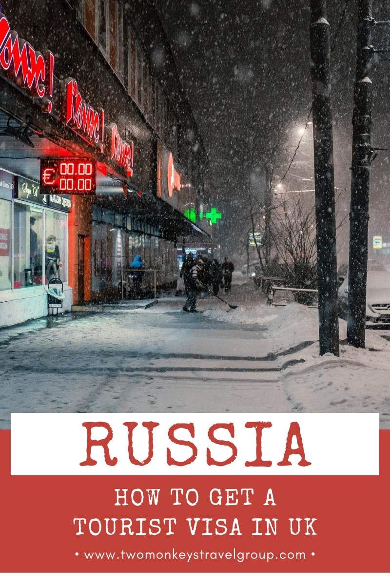 How to Get a Russia Tourist Visa in UK for British Citizens
