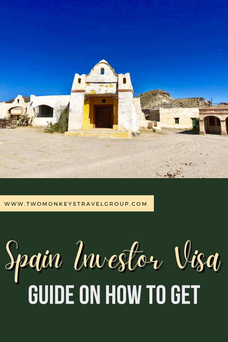 SPAIN GOLDEN VISA - How To Get a Spain Investor Visa for Filipinos