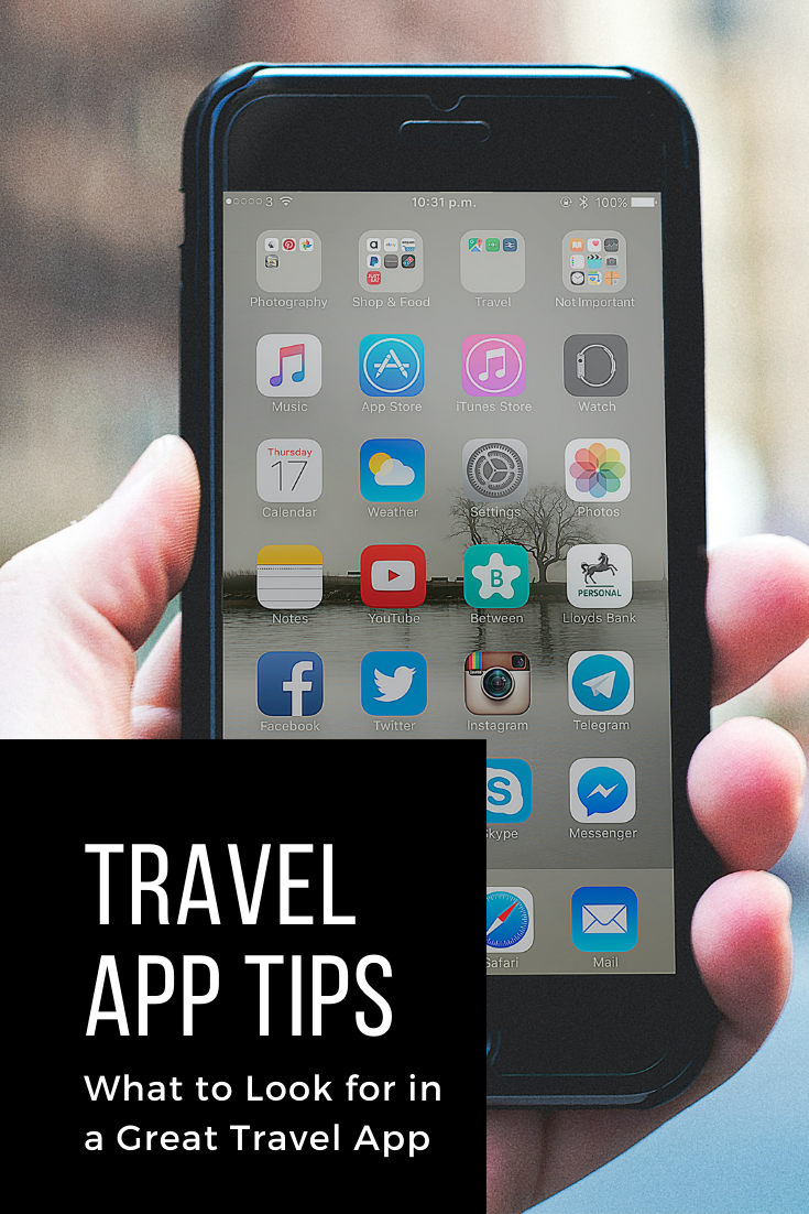 What to Look for in a Great Travel App