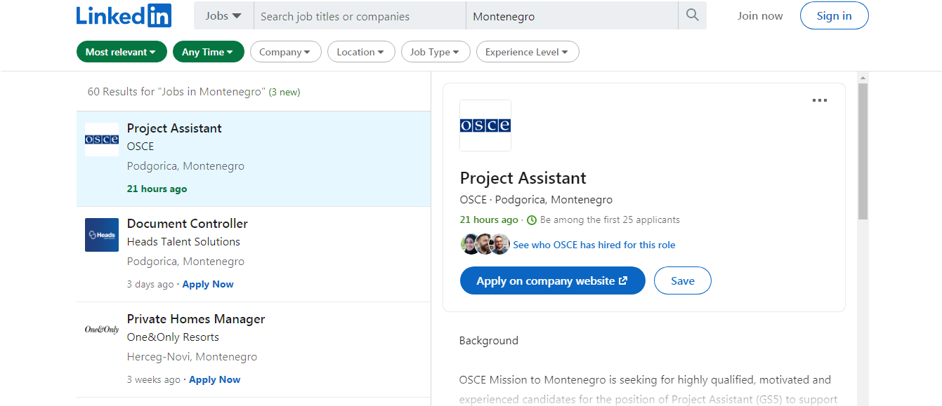 How To Find Work in Montenegro 03