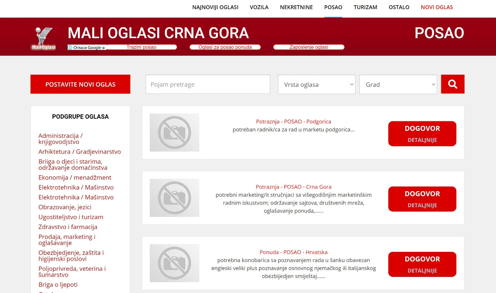 How To Find Work in Montenegro