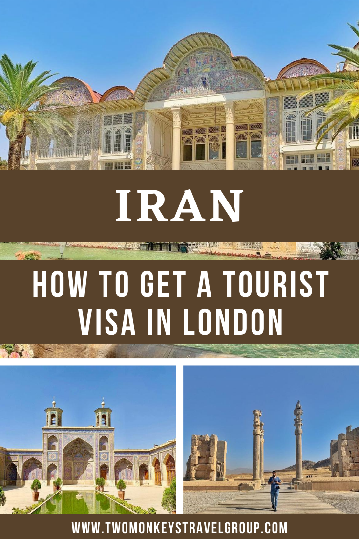 How to Get an Iran Tourist Visa in London for British Citizens
