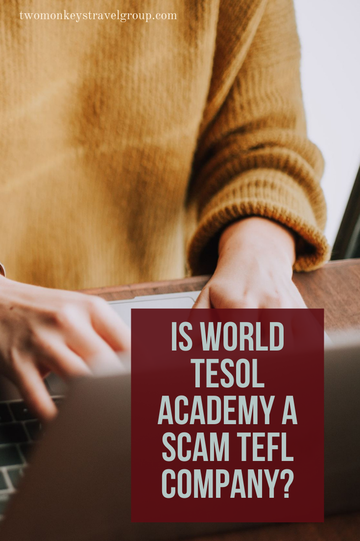 Is World TESOL Academy a Scam TEFL Company