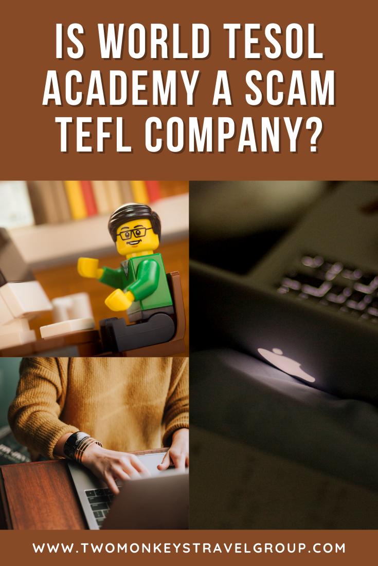 Is World TESOL Academy a Scam TEFL Company