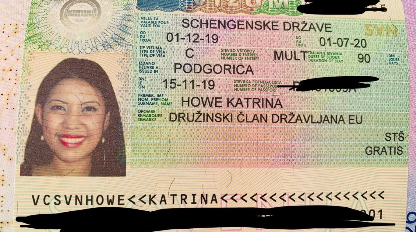 Schengen visa in Podgorica