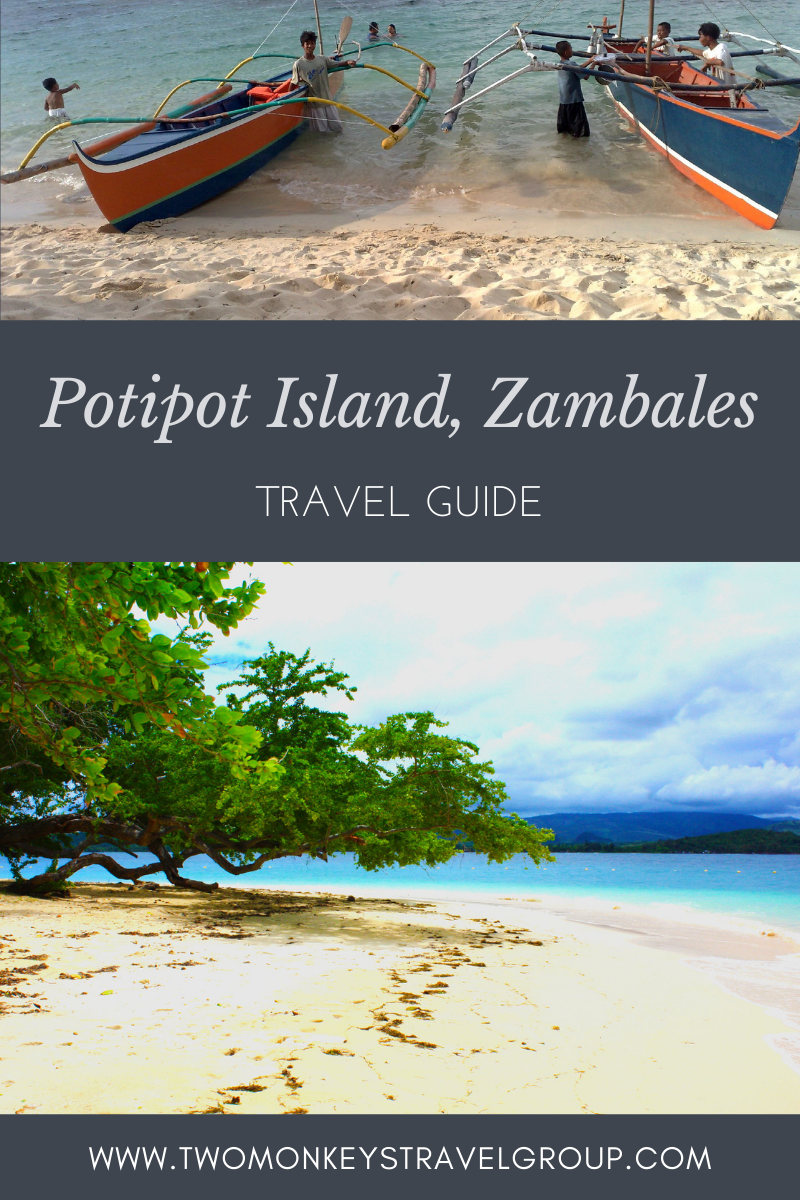 Travel Guide to Potipot Island, Zambales, Philippines with DIY Itinerary