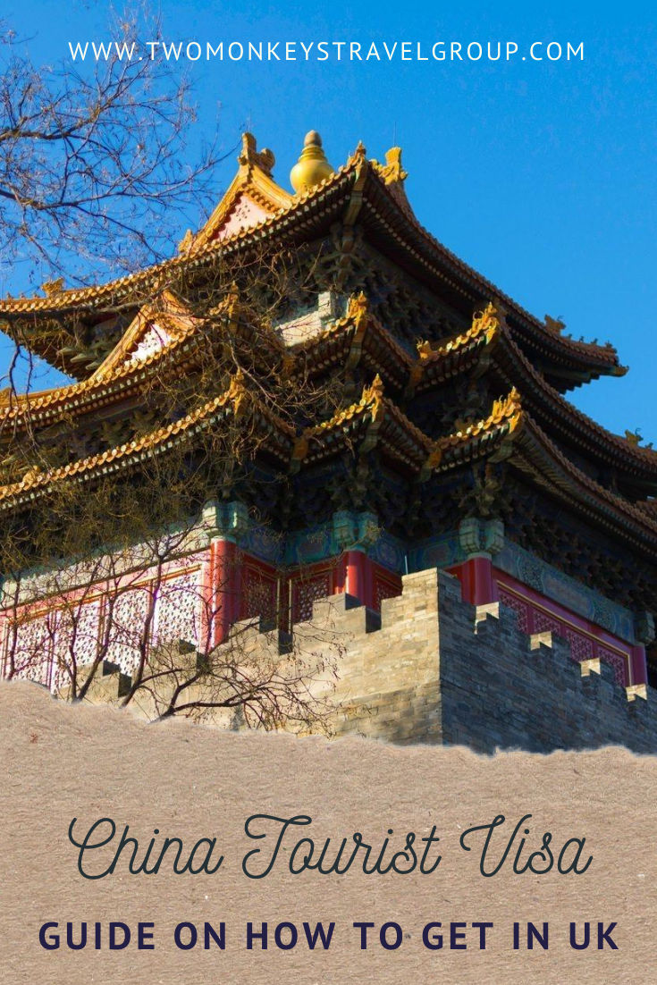 How to get a China tourist visa in the UK for UK nationals