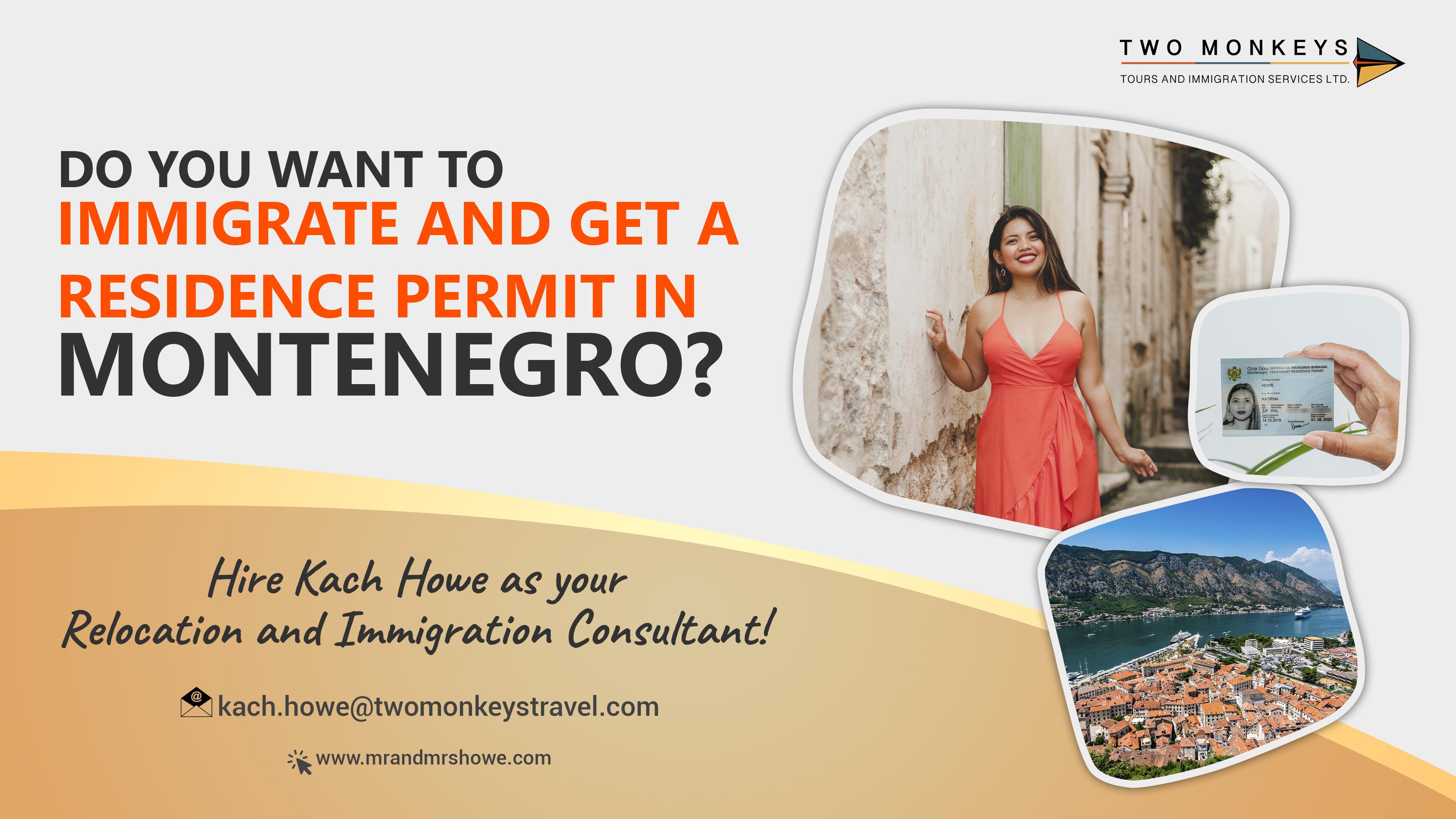 Immigrate to Montenegro