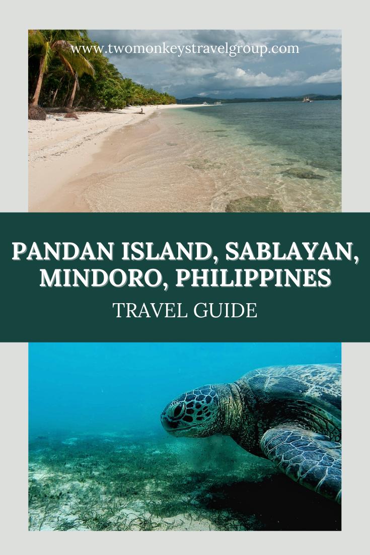 Travel Guide to Pandan Island, Sablayan, Mindoro, Philippines