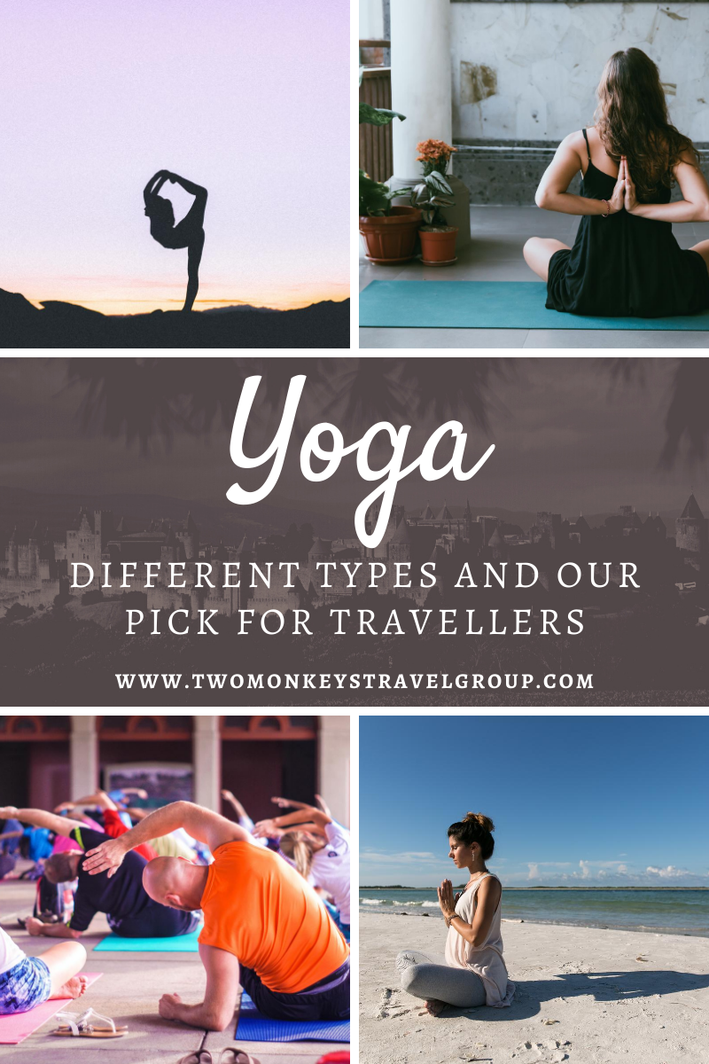 10 Different Types of Yoga and Our Pick for Travellers