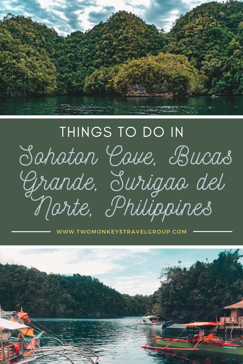 Things to do in Sohoton Cove, Bucas Grande, Surigao del Norte, Philippines