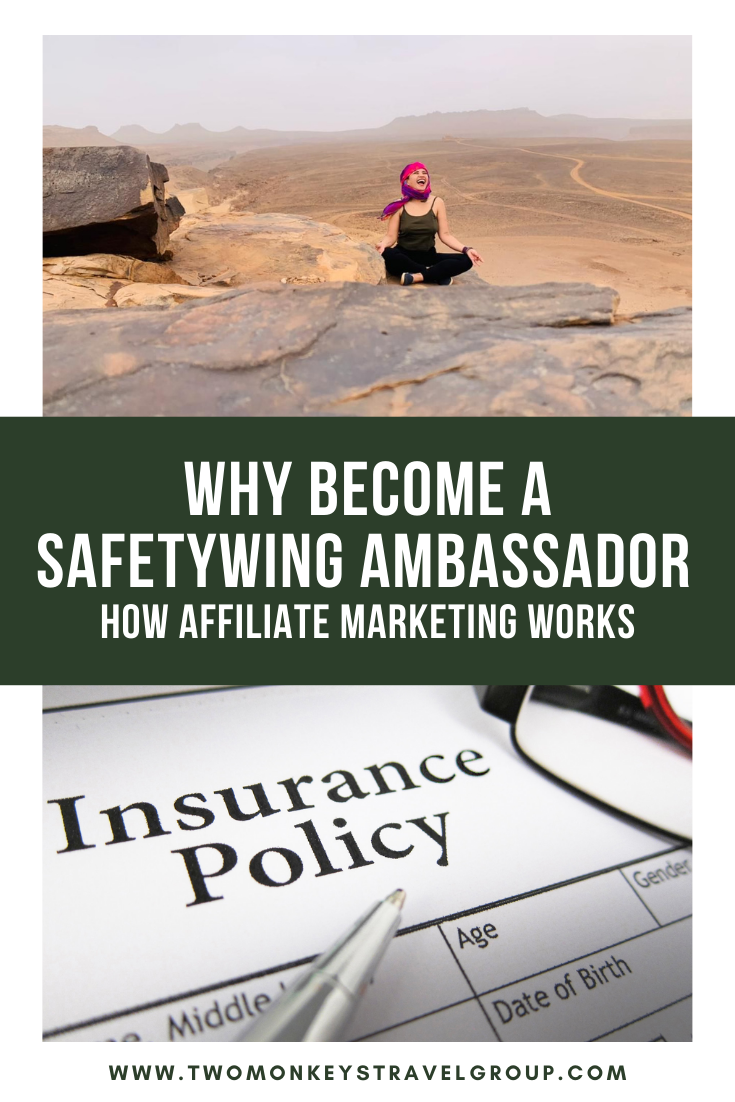 Why Become A SafetyWing Ambassador How Affiliate Marketing Works