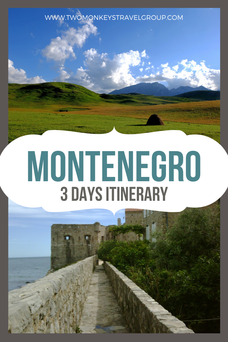 3 Day Montenegro Itinerary How to Maximize Your 3 Days in Montenegro
