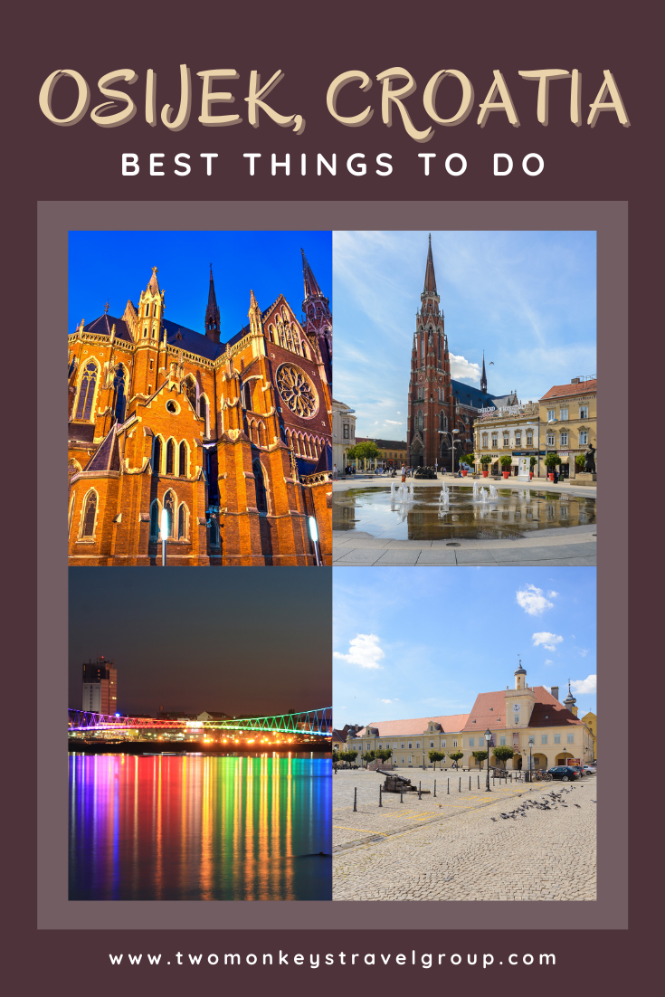 6 Best Things to do in Osijek, Croatia [with Suggested Tours]