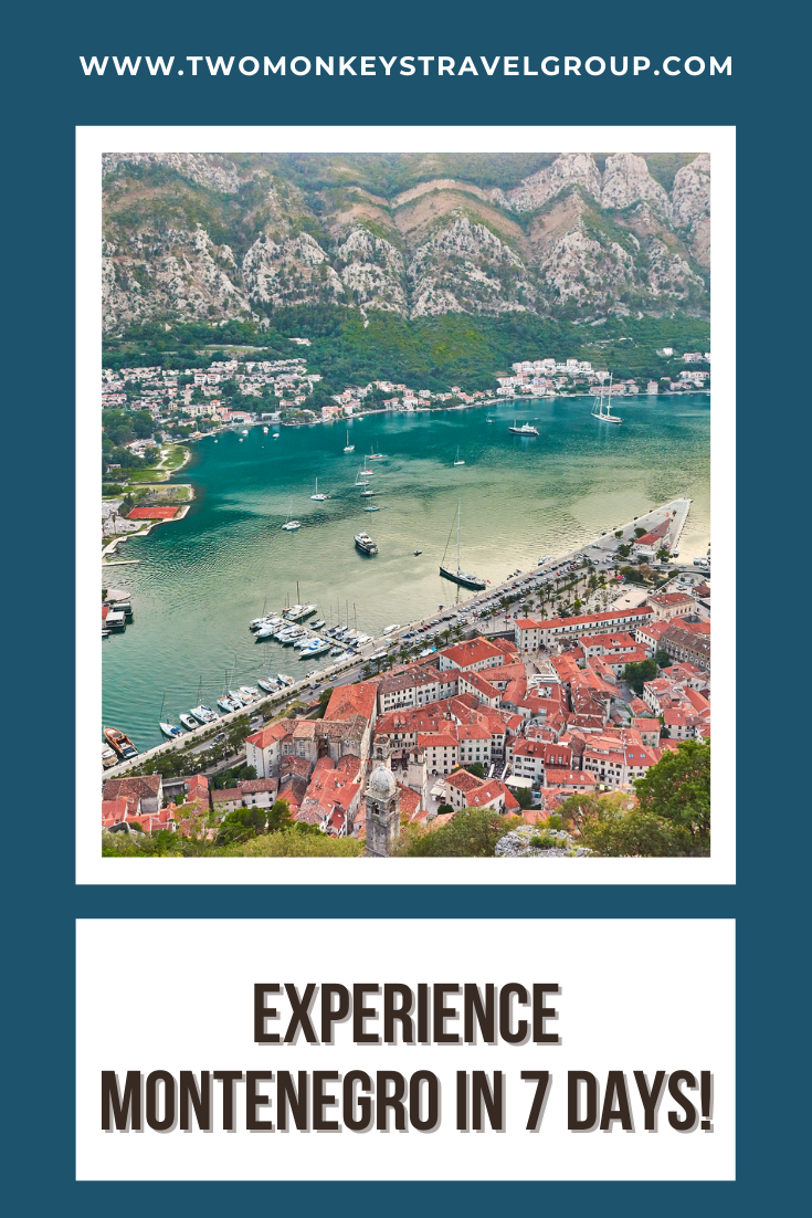 7 Day Montenegro Itinerary Experience Montenegro in 7 Days!