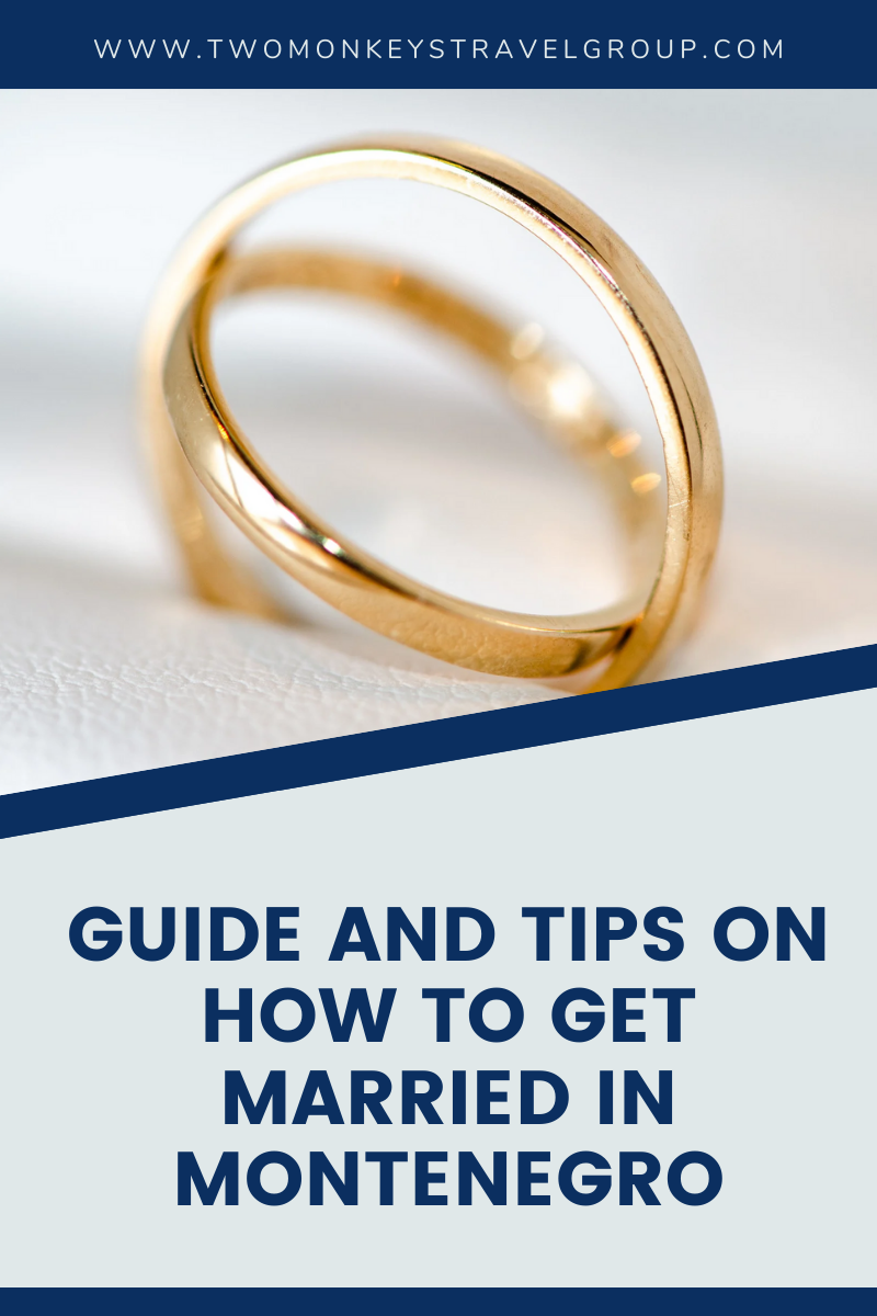 Guide and Tips on How to Get Married in Montenegro