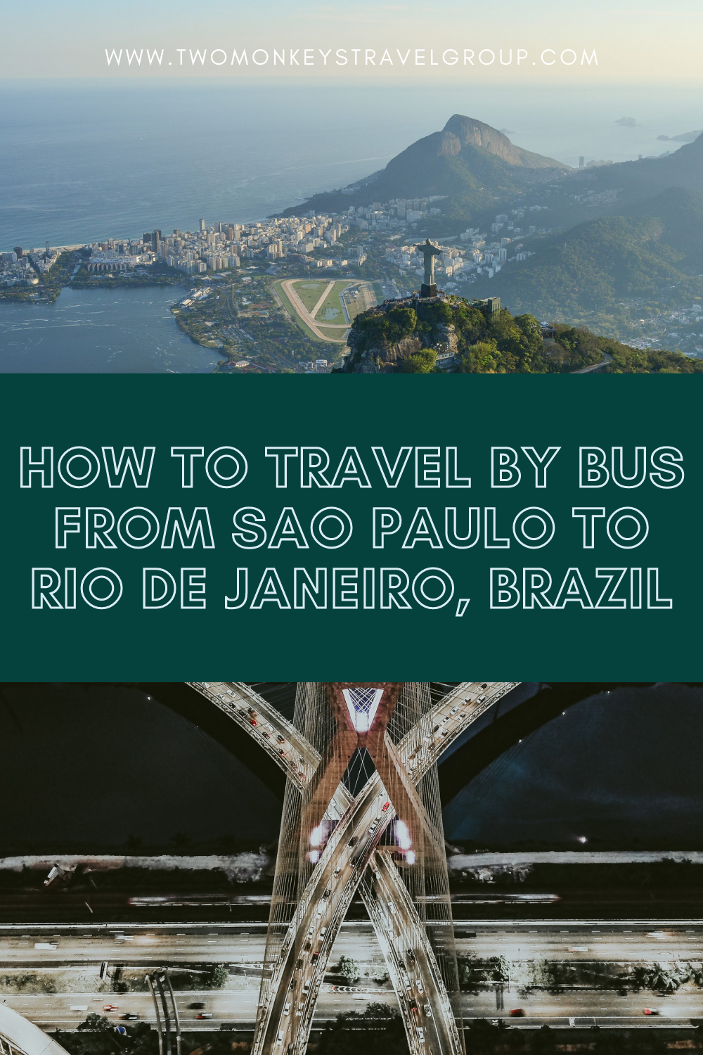 How To Travel by Bus from Sao Paulo to Rio de Janeiro, Brazil [and vice versa]