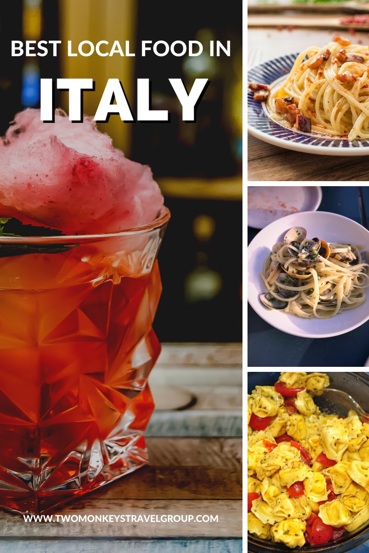 14 Best Traditional Italian Dishes You Should Try [Best Local Food in Italy]