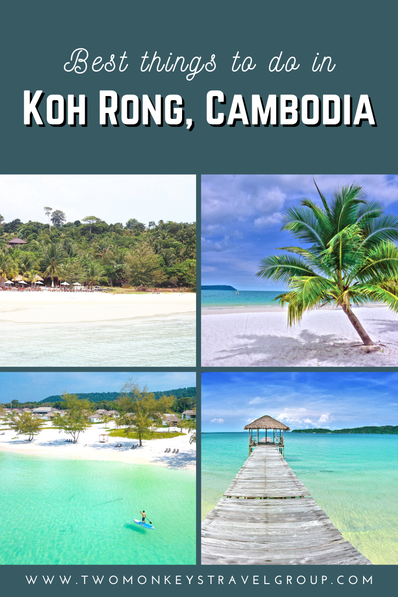 5 Best Things to do in Koh Rong, Cambodia [with Suggested Tours]