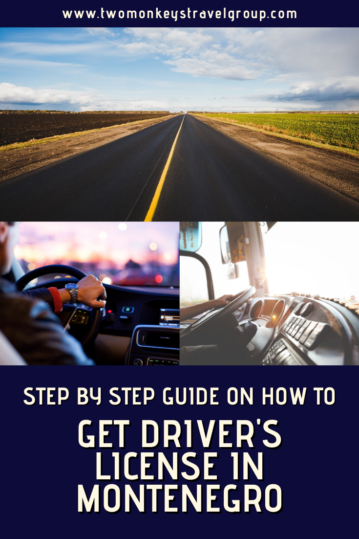 Step by Step Guide on How to Get Driver's License in Montenegro