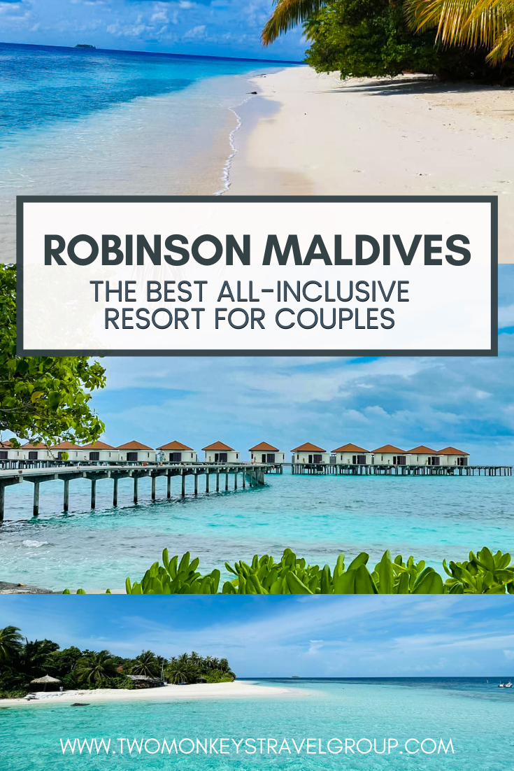 Why ROBINSON Maldives Adults Only Resort Is The Best All Inclusive Resort for Couples